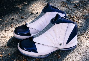 12月22日発売★NIKE Air Jordan 16 Retro White/Midnight Navy 683075-106 ( ナイキ エアジョーダン16)