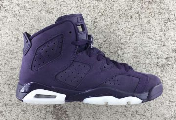 12月30日発売★NIKE Air Jordan 6 Retro GS Purple Dynasty/Purple Dynasty-White 543390-509 【ナイキ エアジョーダン6 GS】