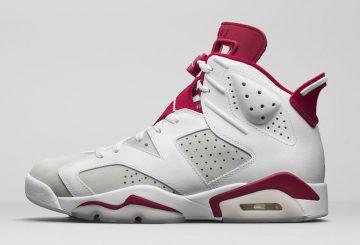 """3月11日発売★公式画像★NIKE Air Jordan 6 """"Alternate"""" White/Pure Platinum-Gym Red 384664-113 【ナイキ エアジョーダン6 オルタネイト】"""