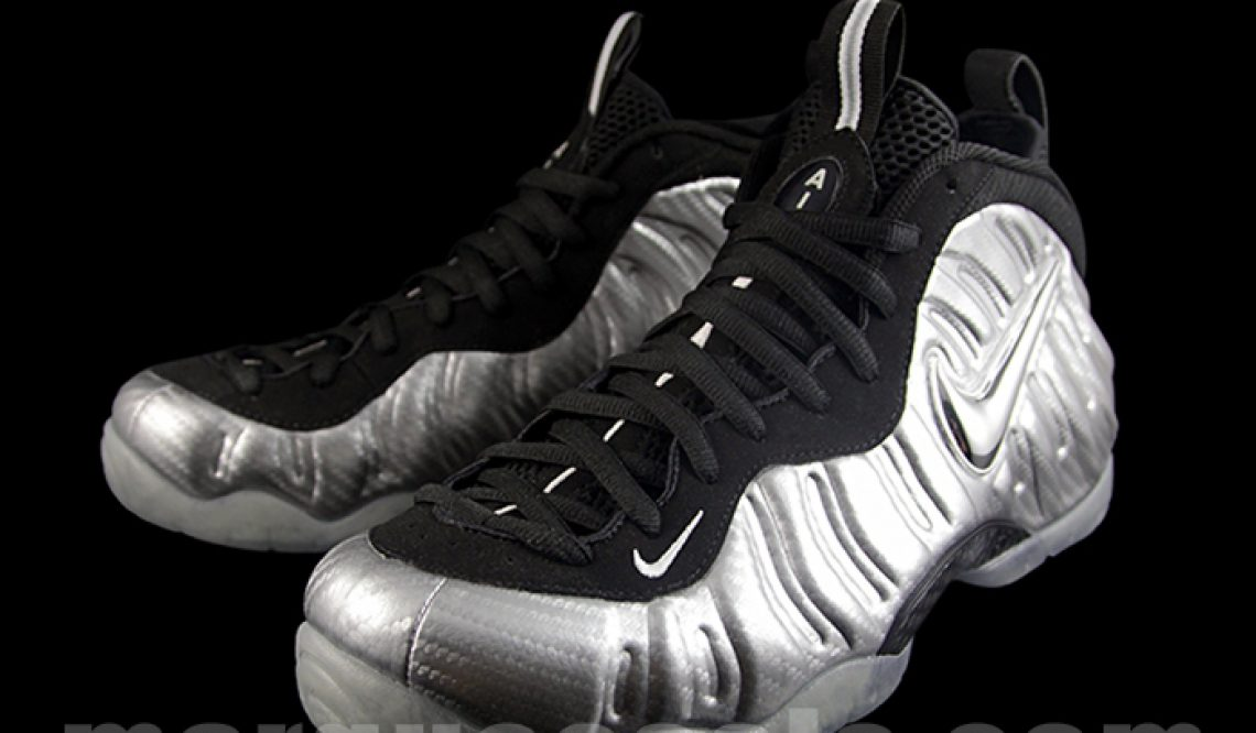 """MOVIE&NEW IMAGES★ Nike Air Foamposite Pro PRM LE """"Silver Surfer"""" Metallic Silver/Black-Metallic Silver 616750-004 【ナイキ エア フォームポジット 】"""