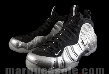 "MOVIE&NEW IMAGES★ Nike Air Foamposite Pro PRM LE ""Silver Surfer"" Metallic Silver/Black-Metallic Silver 616750-004 【ナイキ エア フォームポジット 】"