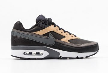 海外展開中★ Nike Air Max BW Premium Black/Dark Grey/Vachetta Tan-White 819523-001 【ナイキ エアマックス BW】