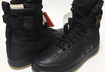 """海外展開中★ Nike SF-AF1 """"Black Gum"""" Black/Black-Gum Light Brown 864024-001 【ナイキ スペシャル フィールド エアフォース1】"""