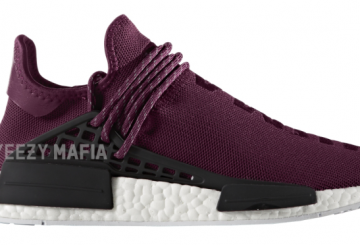 2017年発売★Pharrell Williams × adidas NMD Human Race Noble Crimson/Footwear White BB0617 【ファレル  ウイリアムズ×アディダス NMD】