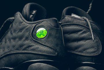 """1月21日発売★ NIKE Air Jordan 13 """"Black Cat"""" Black/Anthracite-Black 414571-011  【ナイキ エアジョーダン 13 """"ブラックキャット""""】"""
