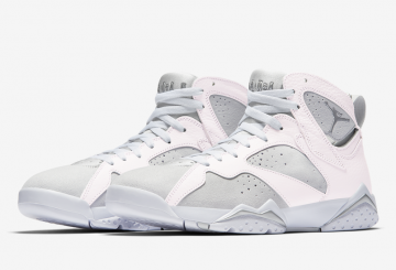 6月3日発売★NIKE Air Jordan 7 White/Metallic Silver-Pure Platinum 304775-120【ナイキ エアジョーダン7】