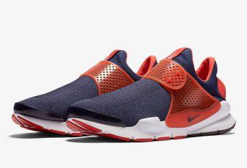 海外近日発売★ Nike Sock Dart Max Orange/Midnight Navy-White 819686-402 【ナイキ ソックダート 】