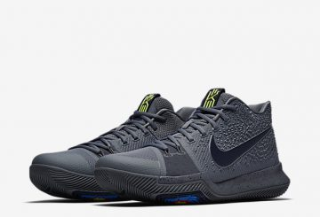 MOVIE&検索リンク★3月25日発売★Nike Kyrie 3 Cool Grey/Anthracite-Polarized Blue 852395-001 【ナイキ カイリ― 3】