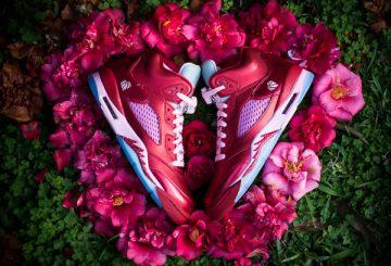 "MOVIE★過去の名作★NIKE Air Jordan V GS ""VALENTINES DAY"" Gym Red/Ion Pink 440892-605 【ナイキ エアジョーダン 5 GS バレンタインデー】"