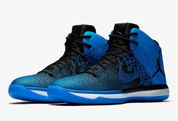 "4月1日発売★ NIKE Air Jordan XXX1 ""Royal"" Black/Game Royal-White 845037-007 【ナイキ エアジョーダン31】"