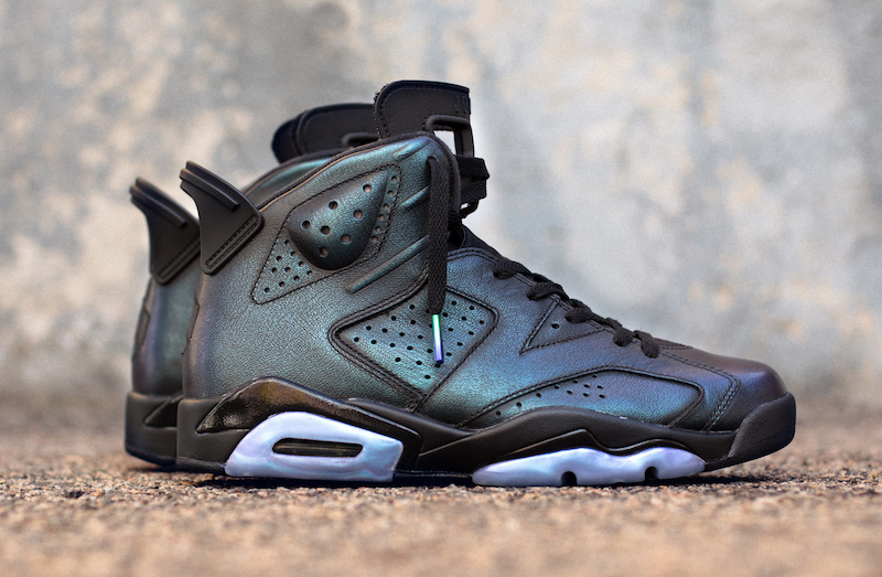 "MOVIE☆NIKE Air Jordan 6 ""All-Star"" Black/Metallic Silver-Black 907961-015  【ナイキ エアジョーダン 6 オールスター】"
