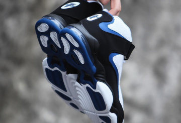 海外展開中★ NIKE Air Penny 4 White/Black-Atlantic Blue 864018-100   BLACK/DARK NEON ROYAL  864018-001【ナイキ エアペニー4】