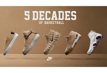 2月発売予定★NIKE 5 DECADES OF BASKETBALL PACK