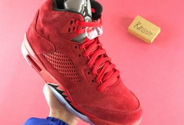 詳細画像追記★7月1日発売★NIKE Air Jordan 5 University Red/Black-University Red 136027-602 【ナイキ エアジョーダン5】