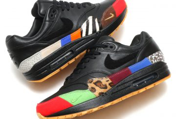 "MOVIE★ 検索リンク★NIKE AIR MAX 1 MASTER BLACK/BLACK-UNIVERSITY RED-INTERNATIONAL BLUE  910772-001  【ナイキ エアマックス1 ""マスター""】"