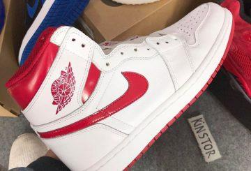 """5月発売予定★NIKE Air Jordan 1 Retro High OG """"Metallic Red"""" White/Varsity Red 555088-103 【ナイキ エアジョーダン1 OG】"""