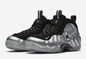 "3月17日発売予定★MOVIE★Nike Air Foamposite Pro ""Silver Surfer"" Metallic Silver/Black-Metallic Silver 616750-004 【ナイキ エア フォームポジット プロ】"