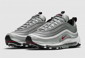 "MOVIE★4月15日発売★ Nike Air Max 97 OG QS ""Silver Bullet"" Metallic Silver/Varsity Red-White-Black 884421-001 【ナイキ エアマックス 97】"