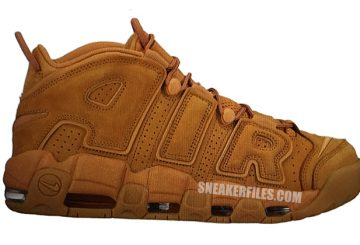 """10月発売予定★ Nike Air More Uptempo """"Wheat""""Flax/Flax-Flax 【ナイキ エア モア アップテンポ】"""