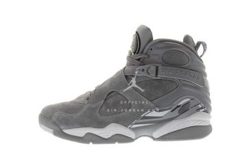 6月20日発売★ NIKE Air Jordan 8 Cool Grey/Wolf Grey-Cool Grey 305381-014  【ナイキ エアジョーダン 8 】