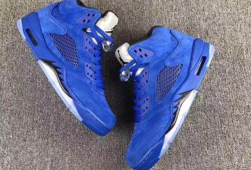 """詳細画像追記★ NIKE Air Jordan 5 """"Blue Suede"""" 【ナイキ エアジョーダン 5 """"ブルースエード""""】"""