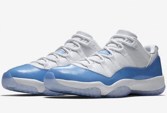 ファミリーサイズ★ 検索リンク★4月15日発売★NIKE Air Jordan 11 Low White/University Blue 528895-106