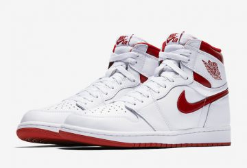 "検索リンク追記★MOVIE★5月6日発売★ NIKE Air Jordan 1 Retro High OG ""Metallic Red"" White/Varsity Red 555088-103 【ナイキ エアジョーダン1 】"