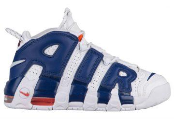 """4月発売予定★ Nike Air More Uptempo """"Knicks"""" """"Scottie Pippen and Patrick Ewing""""【ナイキ エア モア アップテンポ """"ニックス""""】"""