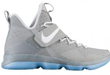 """4月6日発売★ Nike LeBron 14 """"MAG"""" Matte Silver/White Glow 852405-005 【ナイキ レブロン 14】"""