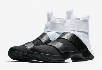 4月17日発売★Nike LeBron Soldier 10 Pinnacle White/Black-White AA1090-100 【ナイキ レブロン ソルジャー 10 ピナクル】