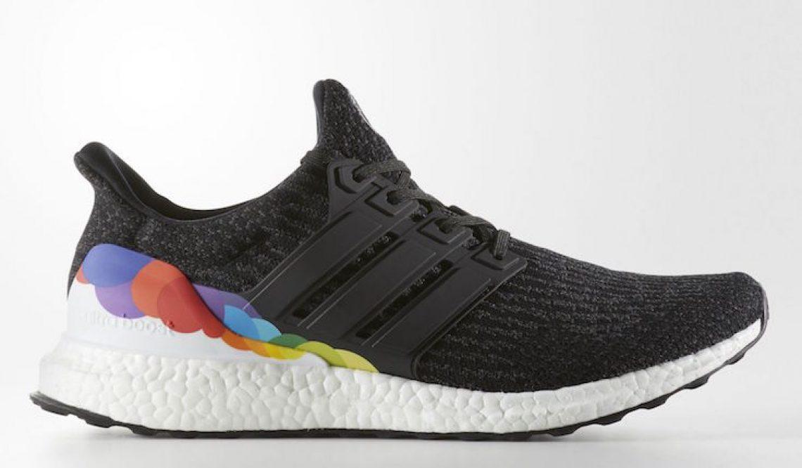 """6月1日発売★adidas Ultra Boost """"Pride"""" Core Black/Utility Black-Footwear White  CP9632 【アディダス ウルトラブースト プライド】"""