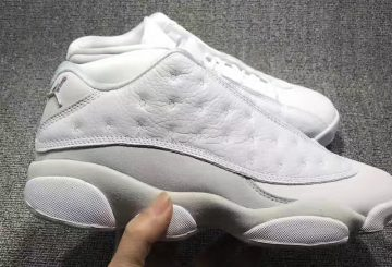 MOVIE★ 5月20日発売★ NIKE Air Jordan 13 Low White/Metallic Silver-Pure Platinum 310810-100 【ナイキ エアジョーダン 13 LOW】