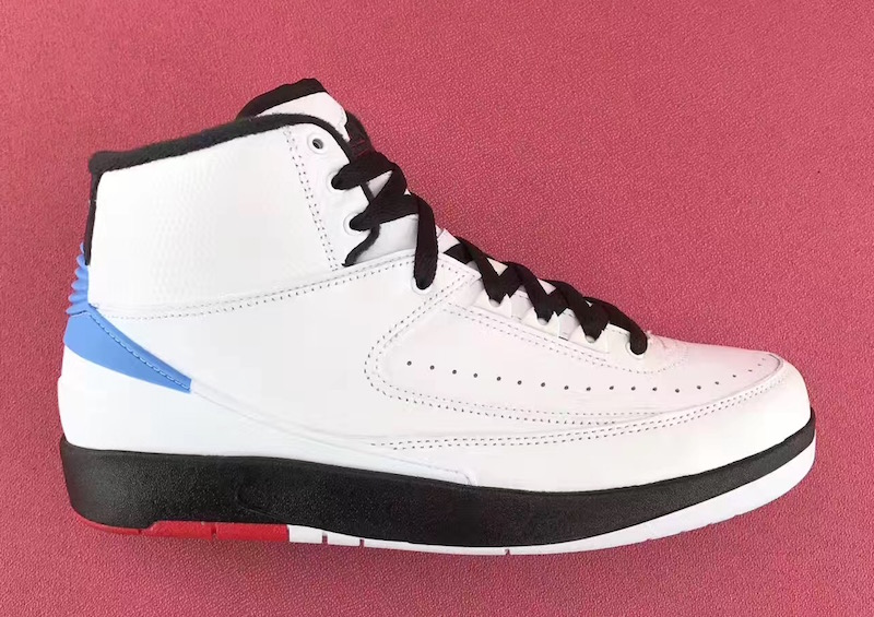 "49184184c64e7d MOVIE☆6月発売予定☆ NIKE Air Jordan 2 ""Alumni"" White Varsity Red-Black-University  Blue 917360-105  ナイキ エアジョーダン 2"