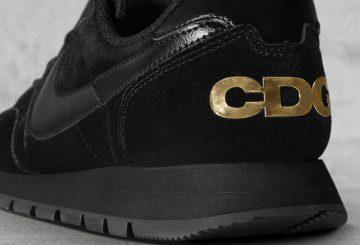 5月2日発売★COMME des GARÇONS x Nike Air Pegasus '83 Black/Black-Metallic Gold 【コムデギャルソン × ナイキ エア ペガサス 83】