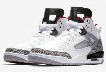 "6月20日発売★NIKE Jordan Spiz'ike ""White Cement"" White/Varsity Red-Cement Grey-Black 315371-122 【ナイキ エア ジョーダン スパイジーク】"