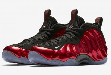 "MOVIE&公式画像追記★ Nike Air Foamposite One ""Metallic Red"" Varsity Red/Black-White 314996-610 【ナイキ エア フォーム ポジット 1】"