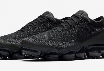 "6月20日発売★ Nike Air VaporMax  ""Triple Black""  Black/Anthracite-Dark Grey 849558-007 【ナイキ エア ヴェイパーマックス 】"