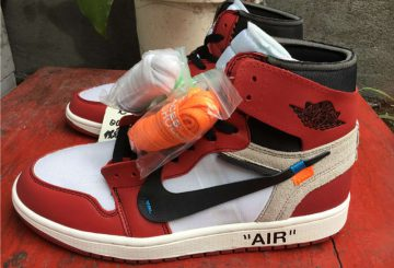 近日展開予定? OFF-WHITE x Air Jordan 1 Retro High OG 10X White/Black-Varsity Red AA3834-101