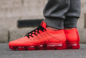 着用画像追記★CLOT x Nike Air VaporMax  Red/Black  AA2241-006