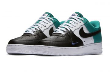 2色同時発売開始★NIKE AIR FORCE 1 '07 LV8 BLACK/DEEP ROYAL BLUE-NEPTUNE GREEN BLACK/DEEP ROYAL BLUE-NEPTUNE GREEN