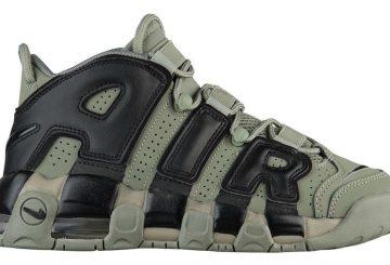 10月7日発売★ Nike Air More Uptempo  GS Dark Stucco/Black  415082-007  (ナイキ モアアップテンポ )