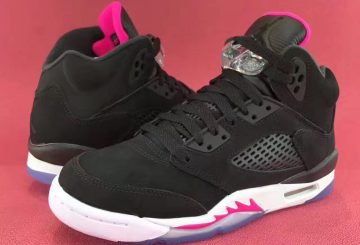NIKE Air Jordan 5 GS Black/Hyper Pink-White  440892-029 【ナイキ エアジョーダン 5 GS】