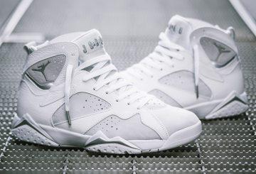 """検索リンク追記★6月3日発売★ NIKE Air Jordan 7 """"Pure Money"""" White/Metallic Silver-Pure Platinum 304775-120  (ナイキ エアジョーダン 7 )"""