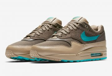 海外展開中★Nike Air Max 1 Premium  Ridgerock/Khaki-Turbo Green 875844-200 (ナイキ エアマックス 1)