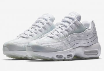 サマーシーズン発売★Nike WMNS Air Max 95 SE  White/Pure Platinum-Ice 918413-100