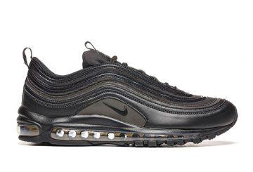 """11月発売★ Nike Air Max 97 """"Triple Black""""  Black/Black-Black 918356-002 【ナイキ エアマックス 97 """"トリプルブラック"""""""