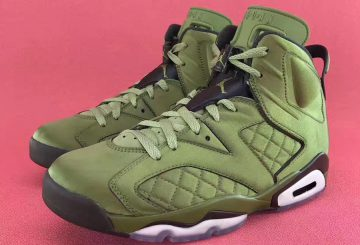 "8月発売予定★ NIKE AIR JORDAN 6 RETRO PINNACLE ""FLIGHT JACKET"" OLIVE GREEN/BLACK-COOL GRAY (ナイキ エアジョーダン 6)"