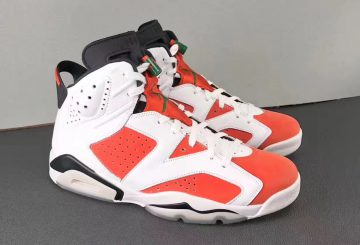 "MOVIE★10月発売★NIKE Air Jordan 6 ""Gatorade""  Summit White/Black-Team Orange 384664-145  (ナイキ エアジョーダン 6 ""ゲータレード"")"