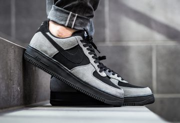 海外展開中★ Nike Air Force 1 Low Dark Grey/Black-White-Black 820266-020 (ナイキ エアフォース 1 )