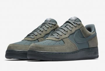 海外展開中★ Nike Air Force 1 '07 Low River Rock/White-Black-Vintage Green 820266-019 (ナイキ エアフォース1 )